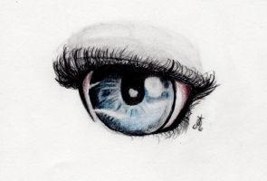 Eye Practice by Vanghira