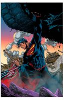 Superman unchained by astrogus