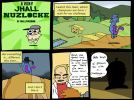 Nuzlocke Run 4 by JHALLpokemon
