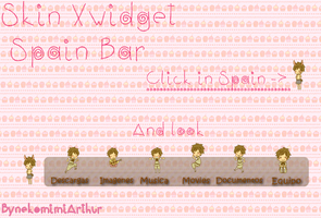 Spain Bar Skin Widget by Nekomimiarthur