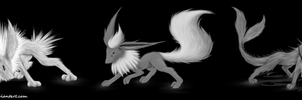 Three Eons Black and White by Jester-Wolf