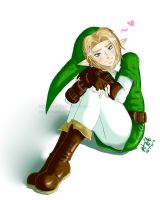 Link 05 .speed paint. by Kim-SukLey