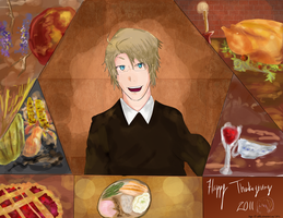 Happy Thanksgiving 2011 by cdblue
