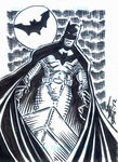 Batman Sketch card by Tim-Dzon