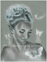 Butterfly Queen by Katerina-Art