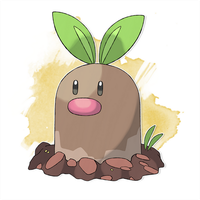#050 United Diglett by DiegoGuilherme