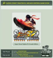 Super Street Fighter IV: Arcade Edition Icon by CODEONETEAM