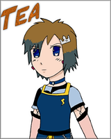 Gift art for:Tea by NarutoSecretHope