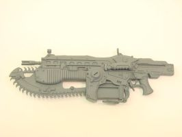Gears of War  lancer by OliverBrig