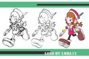 Lolo - from sketch to Color by lmrl12