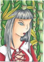 ATC ACEO no title by RowanWatersprite