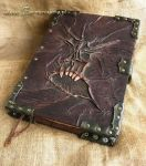 Spell Book Necronomicon by farmerownia