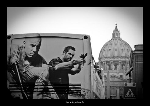 Vin Diesel Attacks Pope by recycleit