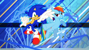 Supersonic Rainboom by Game-BeatX14