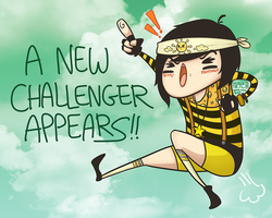 A NEW CHALLENGER APPEARS by yoon-hee