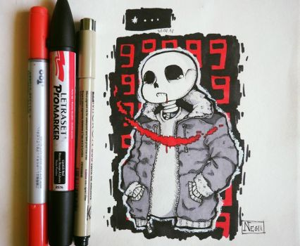 [Undertale] Sans *... by KuroNegii16