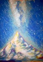 The Lonely Mountain by Miruna-Lavinia