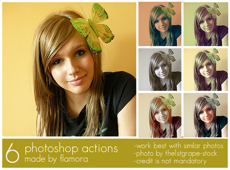 Photoshop Actions Set Four. by flamora
