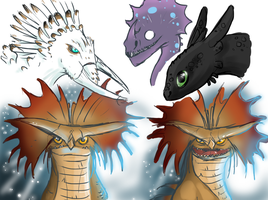 Dragons by ad321