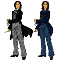 The 8th Doctors Costumes by CosmicThunder