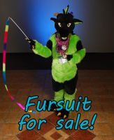Fursuit for sale! [SOLD] by Wolfbird