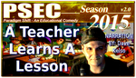 PSEC 2015 A Teacher Learns A Lesson by paradigm-shifting