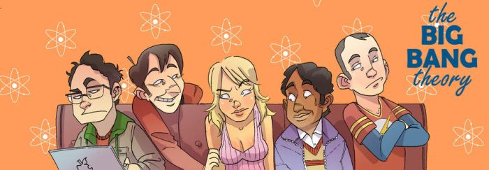 The Big Bang Theory by ghonnen