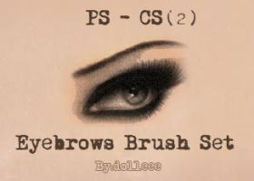 Eyebrows Brush Set 2 by dolleee