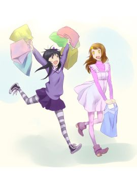 shopping day by angelicalira