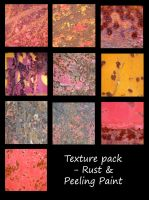 texture Pack - Rust and Paint by rockgem