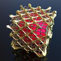 Fractal Box RF3 on Shapeways 3D Print by nic022