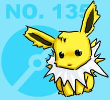 Jolteon no.135 by atomicspacemonkey