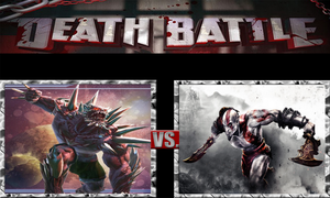 Doomsday vs. Kratos by ScarecrowsMainFan