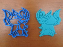 Leafeon Cookie Cutter 01 by B2Squared