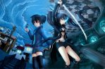 Black Rock Shooter: The Other World by Wasudo