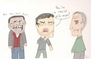 The Walking Dead Racist by MrStrangeLove