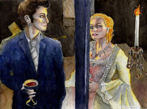 Madame de Pompadour and the Doctor by Scarlett-Winter