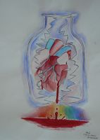my heart is bottled by acryl-no-akasuna