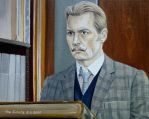 Johnny Depp - Charlie Mortdecai 2 by shaman-art