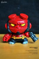 Hellboy dunny by eggay