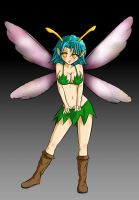 Mini Fairy Insect Girl by timothymwellman