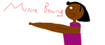Muscle bound Myles title card by mylesterlucky7
