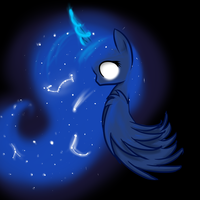 Lunar Princess by MoonShardDragon