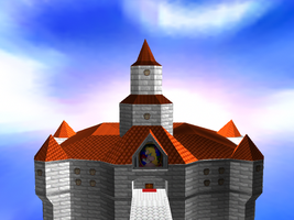 Peach's Castle On Maya 1 by animaniatic