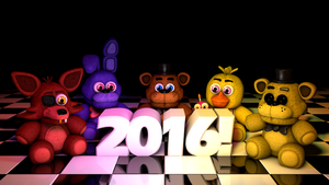 Happy 2016 Everyone!! Also plush pack release! by GaboCOart