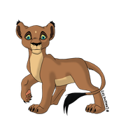 Lion king Cub to adopt CLOSED by AlbinoWolf296