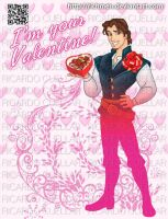 Flynn Rider Valentine's Day by Richmen