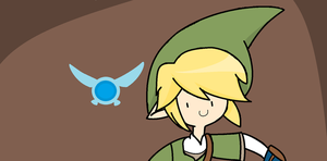 Link and Navi by EmilyIsAweshum