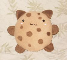 Chocolate Chip Cookie Cat by StitchyGirl