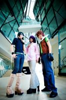 Gundam 00: Trinity by Astellecia